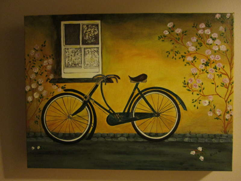Bicycle in Spring