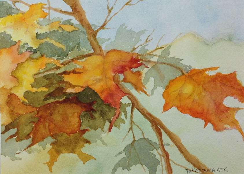 Autumn Leaves II,